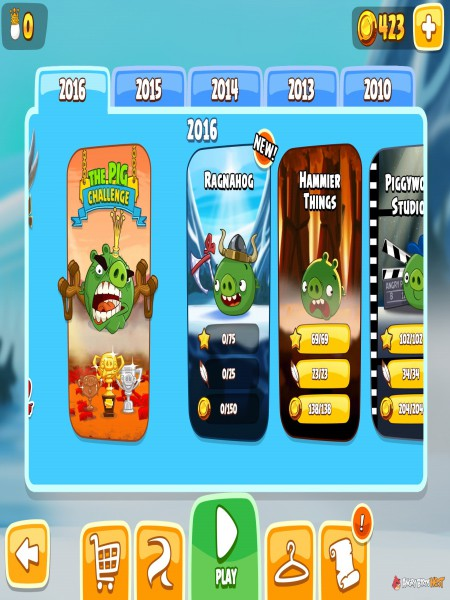 Download Angry Birds Seasons Highly Compressed