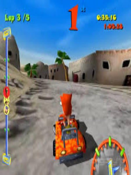 Download Toon Car Game For PC