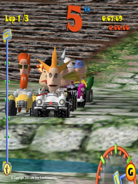 Download Toon Car Highly Compressed
