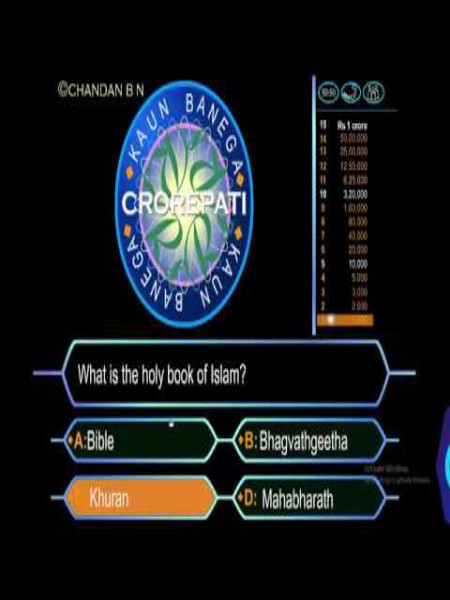 Download Kaun Banega Crorepati Highly Compressed