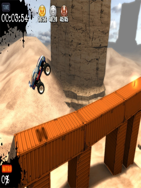 Download Monster Truck Challenge Game For PC