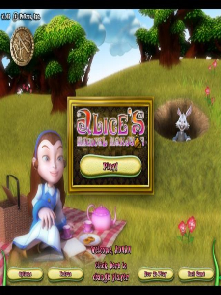 Alices Magical Mahjong PC Game Free Download