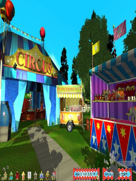 Download Circus World Game For PC