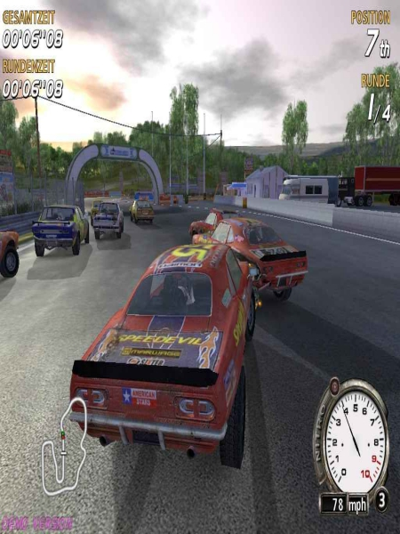 Download Flatout 3 Chaos And Destruction Game For PC