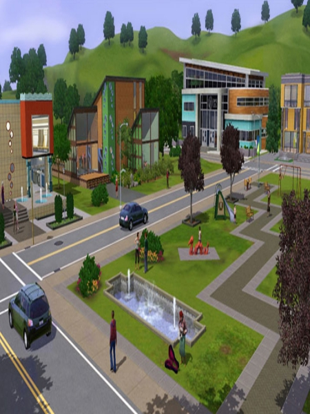 Download The Sims 3 Town Life Stuff Game For PC