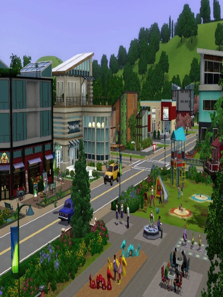 The Sims 3 Town Life Stuff Free Download Full Version