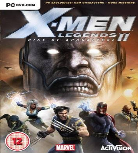X Men Legends II Rise Of Apocalypse PC Game Free Download