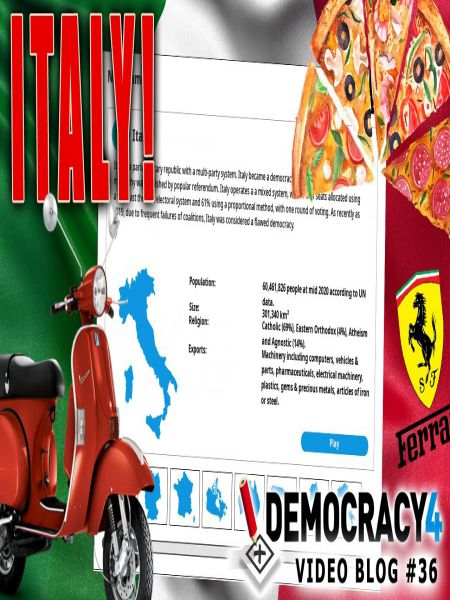 Democracy 4 Italy Early PC Game Free Download